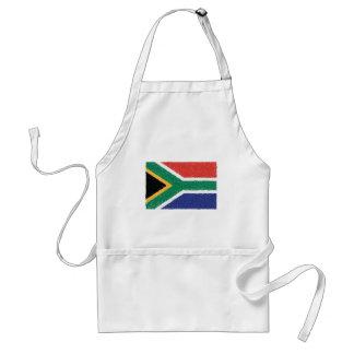 South Africa Flag Theme Standard Apron