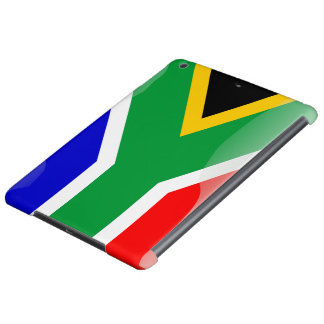South Africa glossy flag