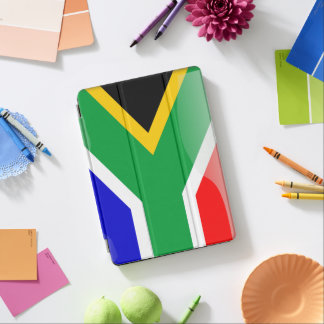 South Africa glossy flag iPad Air Cover