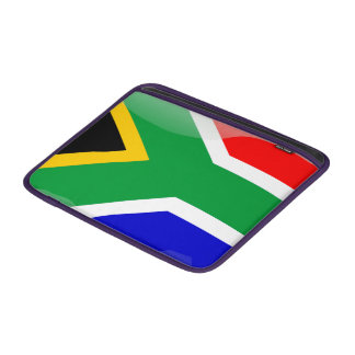 South Africa glossy flag Sleeve For MacBook Air