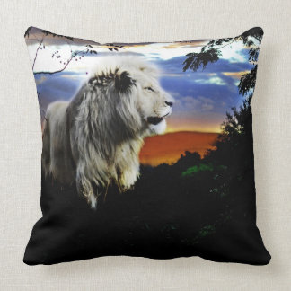 South Africa Lion in the Jungle Cushion