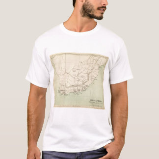 South Africa Lithographed Map T-Shirt