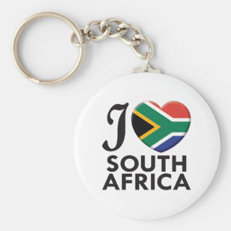 South Africa Love Keychain
