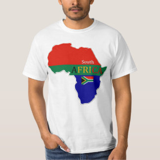 South Africa Map Designer Shirt Garments Him Hers