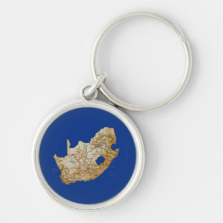 South Africa Map Keychain