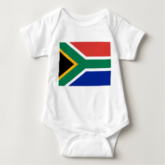 South Africa National World Flag Baby Bodysuit