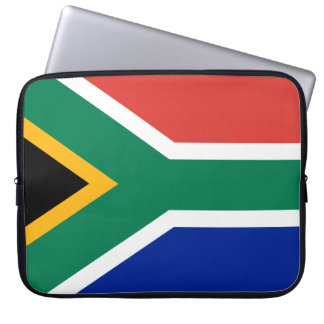 South Africa National World Flag Laptop Sleeve