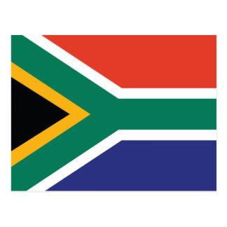 South Africa Plain Flag Post Card