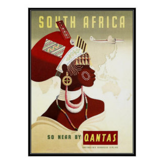 South Africa Poster