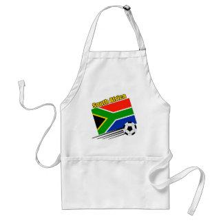 South Africa Soccer Team Standard Apron