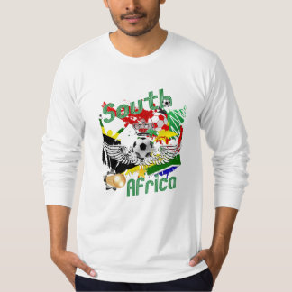 South Africa soccer wings football explosion T Shirt