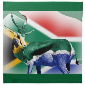 South Africa Springbuck Flag MoJo Napkins