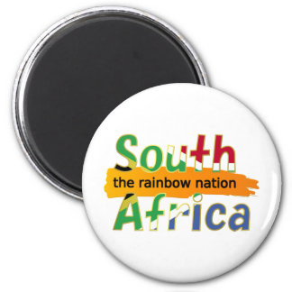 South Africa: the rainbow nation Magnet