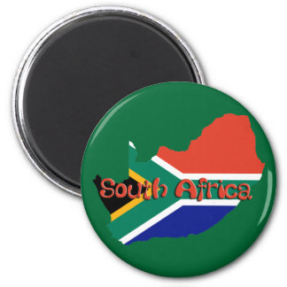 South Africa theme Magnet