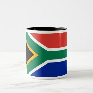 South Africa Two-Tone Coffee Mug