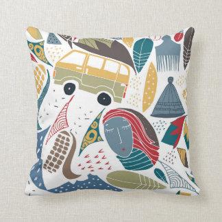 South African / african design / shweshwe Cushion