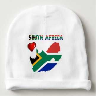 South African flag Baby Beanie