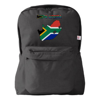 South African flag Backpack