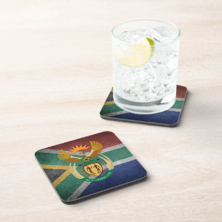 South African flag Coaster