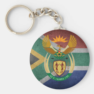 South African flag Key Ring