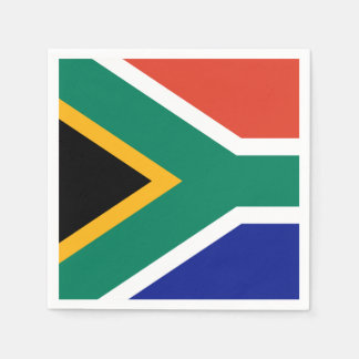 South African Flag Paper Napkins