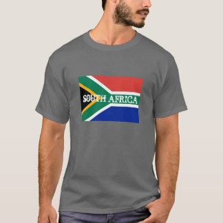 South African flag T Shirts