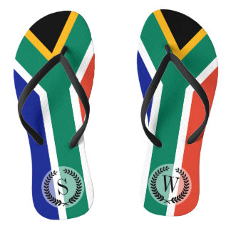 South African Flag Thongs