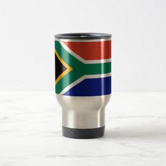 South African Flag Travel Mug