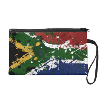 South African Flag Wristlet Purses