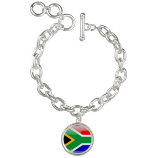 South African glossy flag
