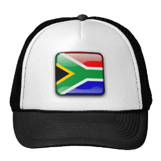 South African glossy flag Cap