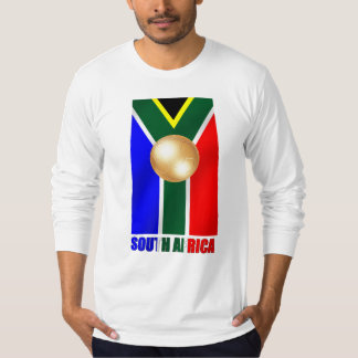 South African Gold - World Champions soccer T-shirts