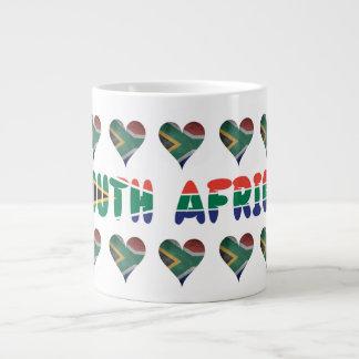 South African hearts Large Coffee Mug
