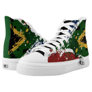 South African Printed Shoes