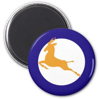 South African Roundel 6 Cm Round Magnet