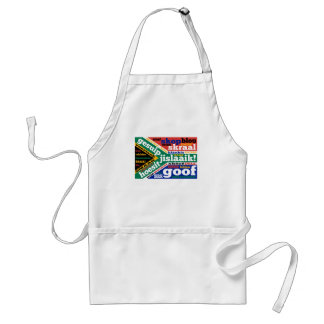 South African slang and colonialisms Standard Apron