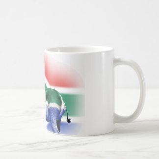 South African Springbock Flag Coffee Mug
