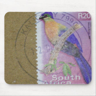 South African Stamp Mouse Pad