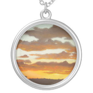 South African Sunset pendant