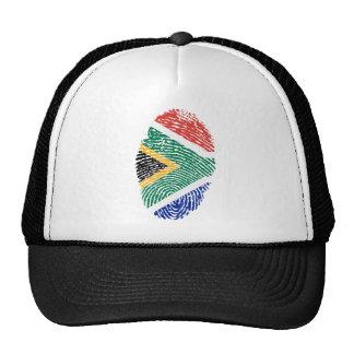 South African touch fingerprint flag Cap