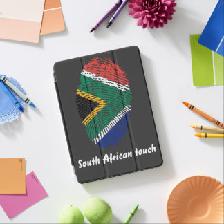 South African touch fingerprint flag iPad Air Cover