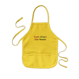 South Africa's Elite Warrior Kids Apron