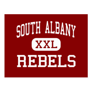South Albany - Rebels - High - Albany Oregon Postcard