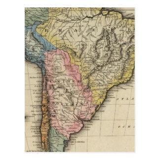 South America 24 Postcard
