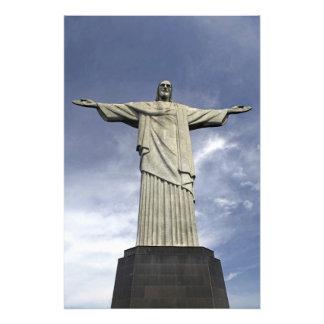 South America, Brazil, Rio de Janeiro. Christ Photo Print