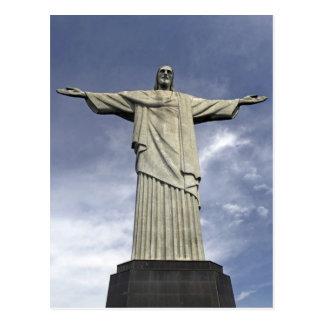 South America, Brazil, Rio de Janeiro. Christ Postcard