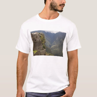South America, Peru, Machu Picchu. Stone ruins T-Shirt