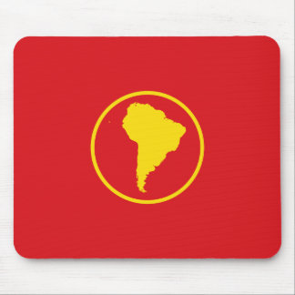 South America Proposal flag Mouse Pads