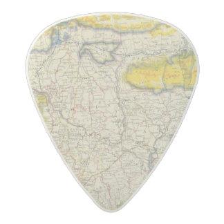 South Asia, India, Bangladesh Acetal Guitar Pick