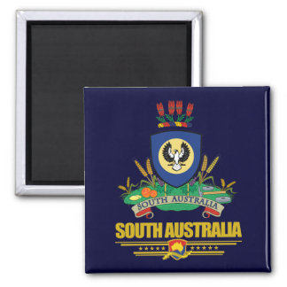 South Australia COA Square Magnet
